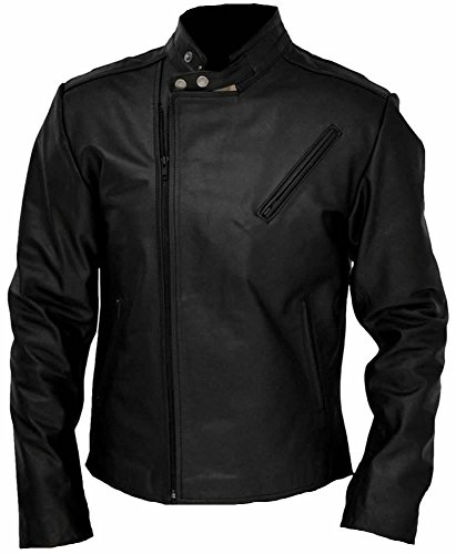 Fashion Tony Vera Sheep Superiore Di Pelle Jacket Stark In Classyak Da Qualità Black Uomo Ironman qnf4YttS