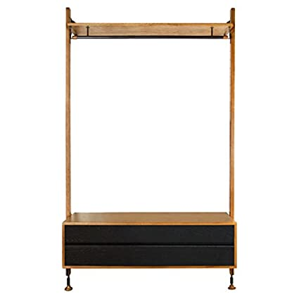 Amazon Com Kathy Kuo Home Peyton Modern Honey Oak Black Hanging