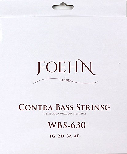 FOEHN ContraBass (Upright bass) Strings Double Bass Strings set (Round Wound Double Bass Strings)