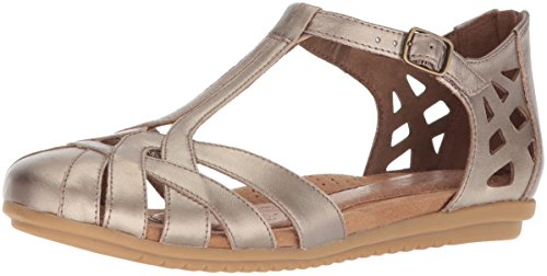 (Rockport Cobb Hill Women's Ireland CH Dress Sandal, Pewter, 10 W US)