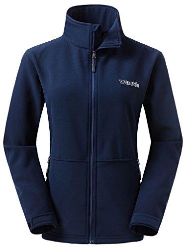 ar Fit Sportswear Softshell Fleece Jacket(Navy, US L) ()