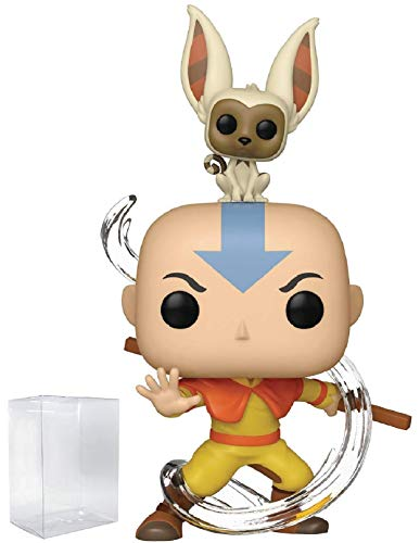 Funko Avatar: The Last Airbender - Aang with Momo Pop! Vinyl Figure (Includes Compatible Pop Box Protector Case) (Avatar The Last Airbender Fire Nation Ship)