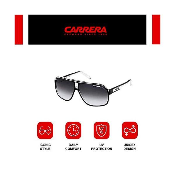 Carrera - GRAND PRIX 2 - Occhiali da sole Uomo Rettangolare - Acetato - Custodia protettiva inclusa 6