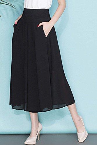 Saoye Fashion Pantalon Jupe Femme Elgante Et Taille Haute Imprim Pantalon Large Bouffant Loisir Mode Fille Vtements Confortable Jupe Pantalon Pantalons Palazzo Colour-6