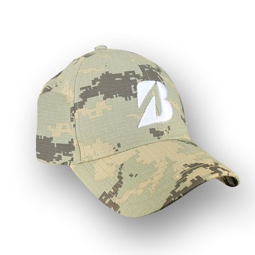 Bridgestone Lifestyle Hat, Camouflage, One Size