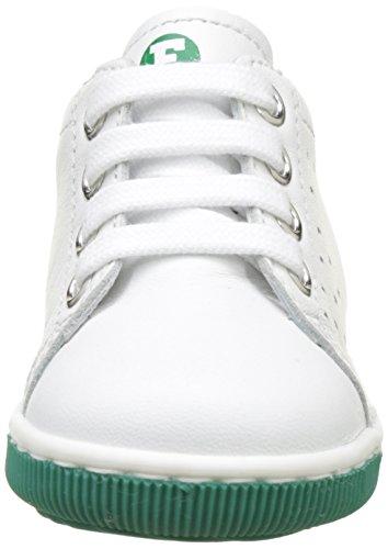 Naturino Falcotto New Smith - Zapatos de primeros pasos Bebé-Niños Blanc (Bianco verde)