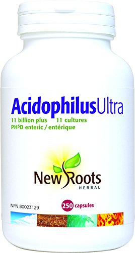 New Roots Herbal Acidophilus Ultra Plus, 250 CT