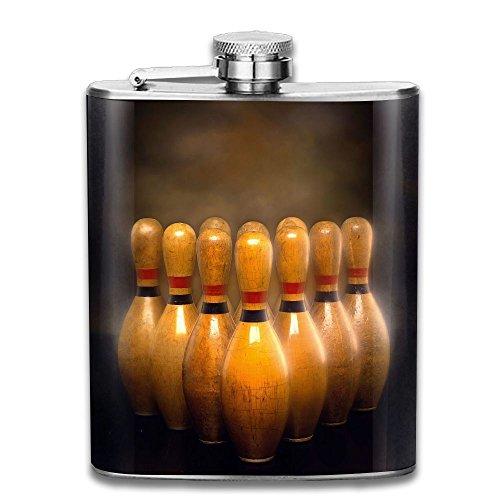 Brandy Golf - CzxzZd CZZD Bowling Wallpaper Portable Stainless Steel Flagon Brandy Wine Pot