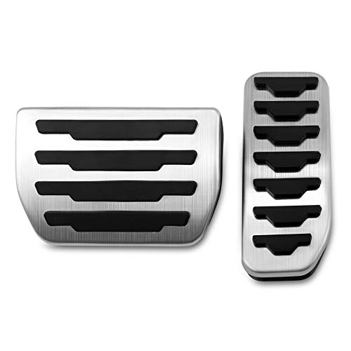 LiTai stainless steel pedal brake pedal covers cover the footbed of the fuel brake