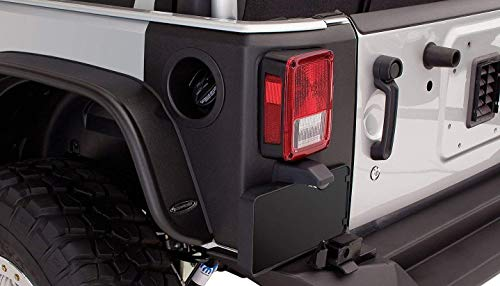 Bushwacker 14009 Jeep Trail Armor Rear Corner Pair