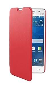 Suiza cargador SCP41249R - carcasa de reserva para Samsung Galaxy Gran Prime, color: rojo