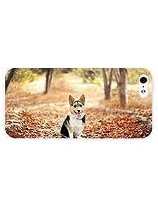 3d Full Wrap Case for iPhone 5/5s Animal Cute Corgi