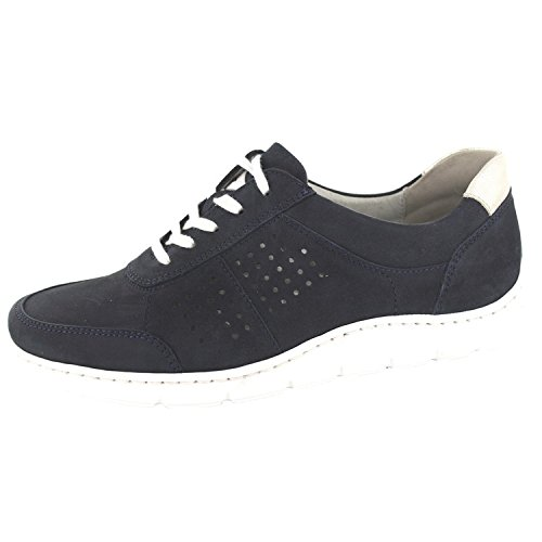 picked up free delivery sale usa online Waldläufer HASSI 399005267898 Damen Schnürschuh Blau, 42.5 ...