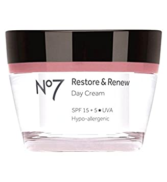 No7 Restore Renew Day Cream Spf 15 50Ml