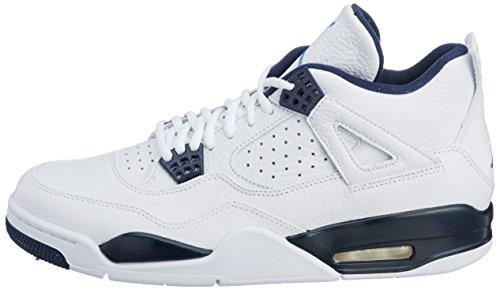 4 De Chaussures Homme Retro Lger blanc Pour Marine Air Bleu Blanc Jordan Ls Basketball Nike EyKqBaYpZc