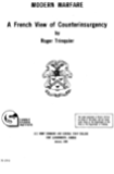 Modern Warfare: A French View of Counterinsurgency
