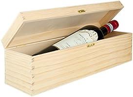 Caja para botellas botellas de vino, caja de madera caja de regalo ...