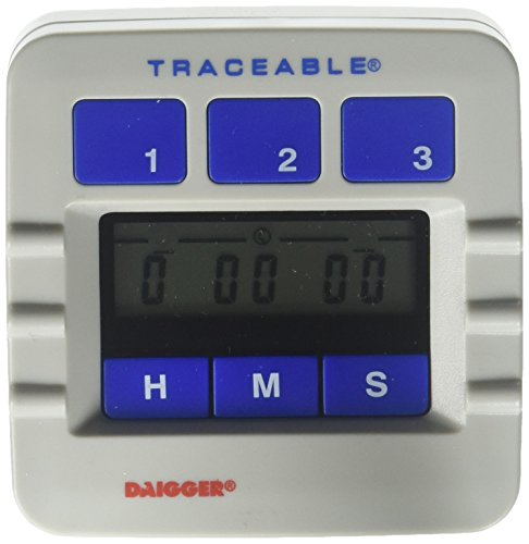 Daigger 8090-DAIGGER 10 Hour Triple Program Lab Timer ()