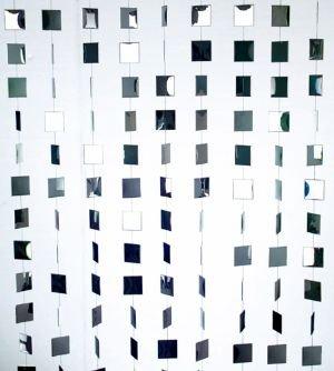 Decoration Rideau De Porte Paravent Miroir Wi36 Amazon Fr
