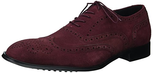 Kenneth Cole New York Mens Disegno 10521 Oxford Vino