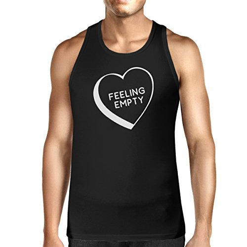 Sans Black Taille Empty Unique Pull Heart 365 Manche Feeling Printing Homme RZUx4wqwES