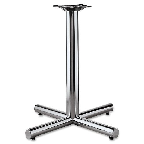 - Hon XSP26CHR Single Column Steel Base, 26w x 26d x 27-7/8h, Chrome