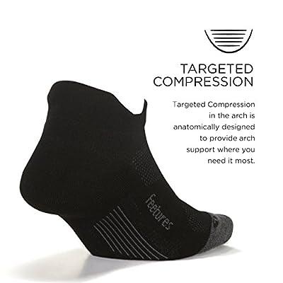 Feetures Elite Max Cushion No Show Tab: Clothing