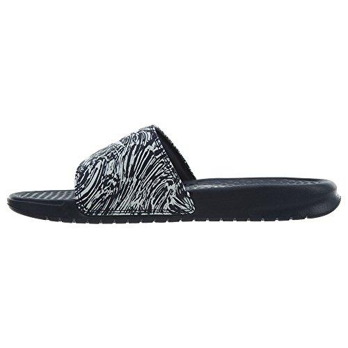Print Puro Nike Benassi Platino 631261 Moda Sneakers Jdi Ossidiana Uomo FOqpPOw