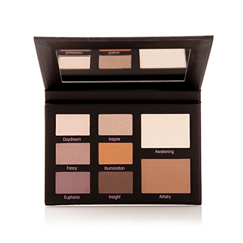 Mally Beauty - Muted Muse Eyeshadow Palette - For All Eye Colors - Light, Medium, and Deep Shades in Cool and Warm Tones - 0.51 Ounce - MY.2101 ()