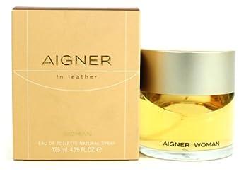 Aigner In Leather By Etienne Aigner For Women. Eau De Toilette Spray 4.25 Oz 125 Ml