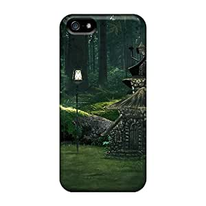 PTl25213JTxf Green Fairyl Fashion 5/5s Cases Covers For Iphone