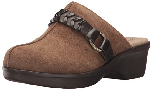 Spirit Talla Taupe Easy Mujeres Zuecos Suede Multi Z7vv1qxn