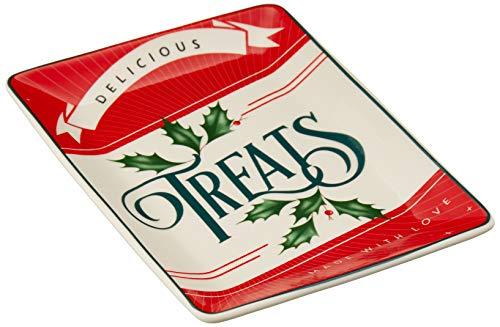Lenox 879637 Vintage Treats Spoon Rest, Multicolor (Spoon Holiday Rest)