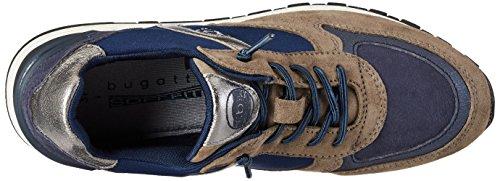 Grau Grey Bugatti Femme Blue Baskets 422285023449 Dark 0vvqB7A
