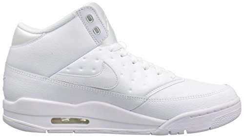 Nike Mens Air Flight Klassiska Basket Gymnastiksko, Vit / Vit / Vit, 11,5 D (m) Oss