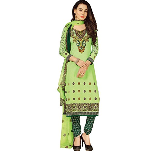 Readymade Faux Crepe Salwar Kameez Ethnic Sober Printed Readymade Salwar Suit Indian Dress (Kameez Printed)