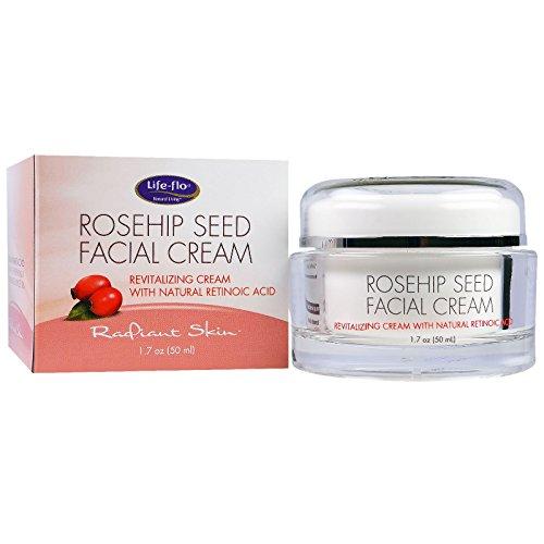 Life Flo Health, Rosehip Seed Facial Cream, 1.7 oz (50 ml) - 2PC