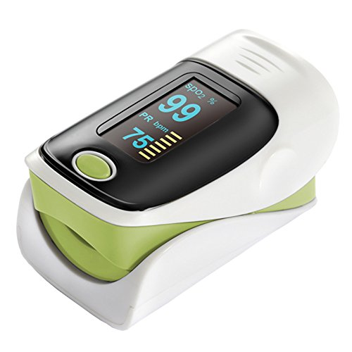 Spo2 Finger (Starhealth Sh-c2 Green Oled Display sports Finger Pulse Oximeter, Spo2 Monitor, Pulse Oximetry)