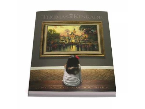 Thomas Kinkade Limited Edition Artwork Catalog 2013 (Newest Edition)