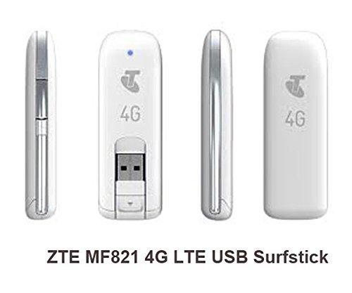 1 PCS ZTE MF821 Modem 4G LTE USB Surfstick for 100Mbps Downl