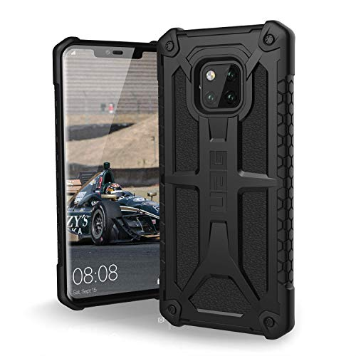 URBAN ARMOR GEAR UAG Huawei Mate 20 Pro [6.39-inch Screen] Monarch Feather-Light Rugged [Black] Military Drop Tested Phone Case