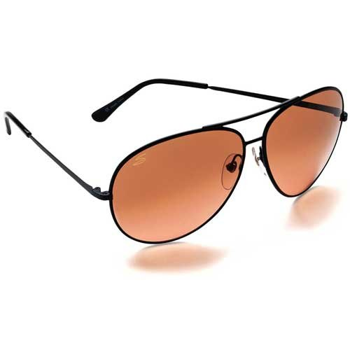 Serengeti Large Aviator Drivers Gradient Sunglasses - Serengeti Men Sunglasses