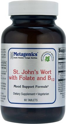 Metagenics - St. John�?TMs Wort with ActiFolate 60T [Health and Beauty]