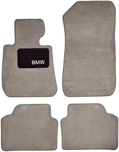 BMW 325i 328i 330i 335i Genuine Factory OEM 82110439351 Grey Carpet Floor Mats 2006 - 2011 (complete set of 4 mats)