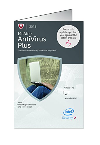 McAfee Antivirus Plus 2015 VERSION