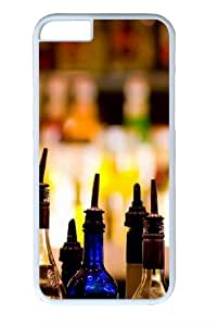 Beverages Custom iphone 6 plus 5.5 inch Case Cover Polycarbonate White