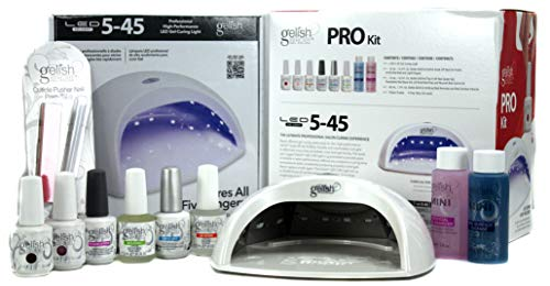 Gelish Harmony Salon Grade Professional Gel LED Soak Off Nai