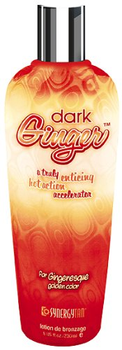 Synergy Tan Dark Ginger Hot Action Accelerator Tanning Cream  230ml ST2004