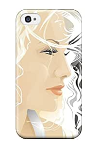 Dana Diedrich Wallace's Shop 5937366K77972982 Iphone Cover Case - Blond Vector Protective Case Compatibel With Iphone 4/4s