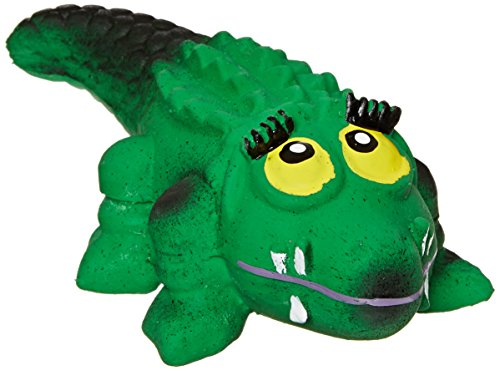 Amazing Pet Products Latex Dog Toy, 5-Inch, Mamma Crocodile